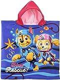 Paw Patrol Kids Hooded Poncho Towel (Fushia)
