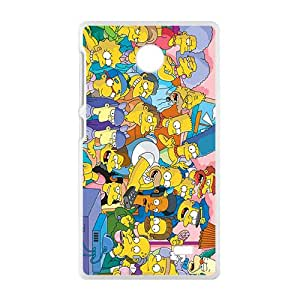 YESGG Simpsons movie Case Cover For Nokia Lumia X