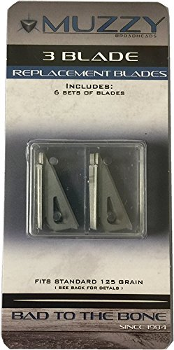 Muzzy Bowhunting 3-Blade Replacement Blades for 235 and 235-