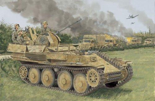 1/35 Flak 38(t) Ausf. M Late Production ~ Smart Kit Model Tank FlakpanzerSd.Kfz.140 anti-aircraft platform IV German Nazi armored military vehicle WWII World War 2 two II