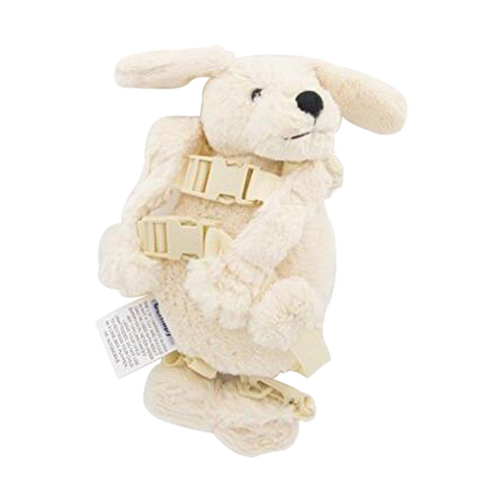 Light white dog Berhapy 2 in 1 Monkey Toddler Safety Harness Backpack Childrens Walking Leash Strap