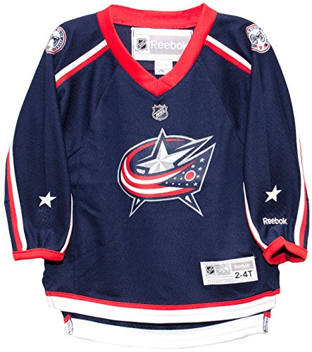 - Columbus Blue Jackets Home Toddler Printed NHL Jersey (2T-4T)