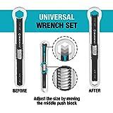 GEARDRIVE Universal Wrench Set, SAE