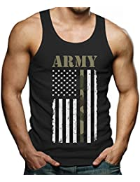 """<span class=""""a-offscreen"""">[Sponsored]</span>4th of July Big USA Army Flag - Gift for Soldiers, Veterans Military Singlet"""