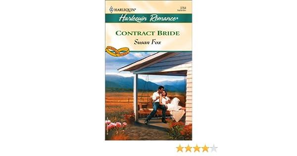 Contract Bride (Harlequin Romance): Amazon.es: Fox, Susan: Libros ...