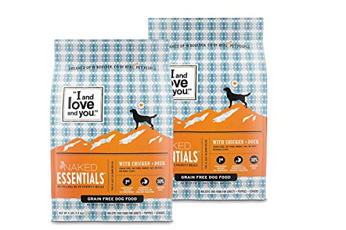 I and love and you, Naked Essentials (Chicken + Duck, (2 Pack) 4 ()