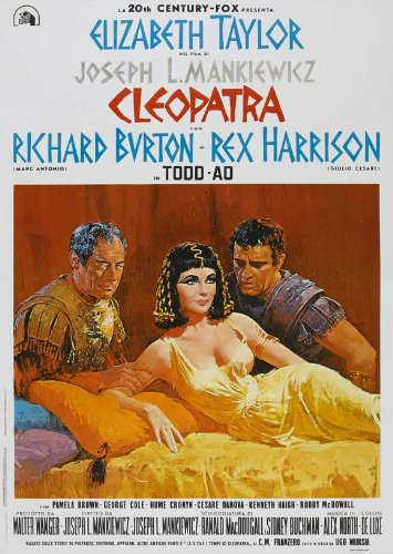 Cleopatra Movie Poster - (27x40) Cleopatra Elizabeth Taylor Movie Poster