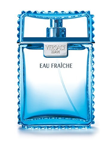 Versace Man Eau Fraiche By Gianni Versace For Men Edt Spray 3.4 Fl. Oz (Top Best Mens Cologne)
