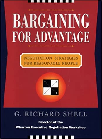 Book Bargaining for Advantage : Negotiation Strategies for Reasonable People