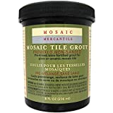 Mosaic Mercantile Premix Grout, 8-Ounce, Black