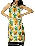 FYDELITY KITCH-O'LICIOUS- Apron: PRINT Pineapple