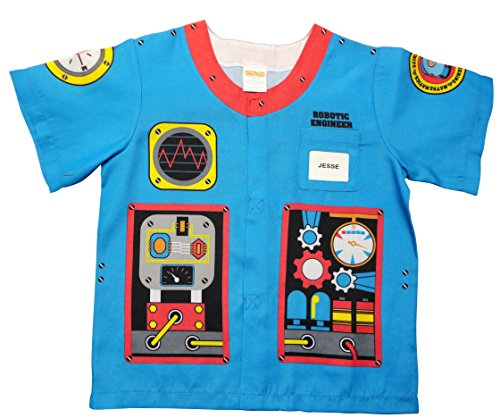 Aeromax My 1st Career Gear Robotic Engineer, Easy to put on shirt fits most ages 3 to 6 -