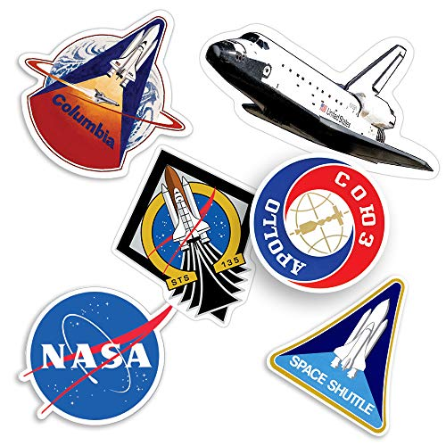 Popfunk NASA Space Shuttle Collectible Stickers