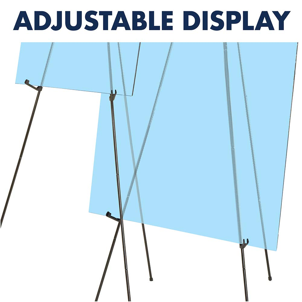 Quartet Easel, Instant, Portable, Tripod, Base 63'' Max. Height, Supports 5 lbs. (29E) by Quartet (Image #4)