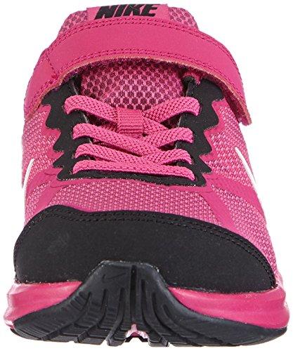 Nike Fusion Run 3 (PSV) - Zapatillas para niñas rosa - Pink (Hot Pink/White-Black-Fireberry)