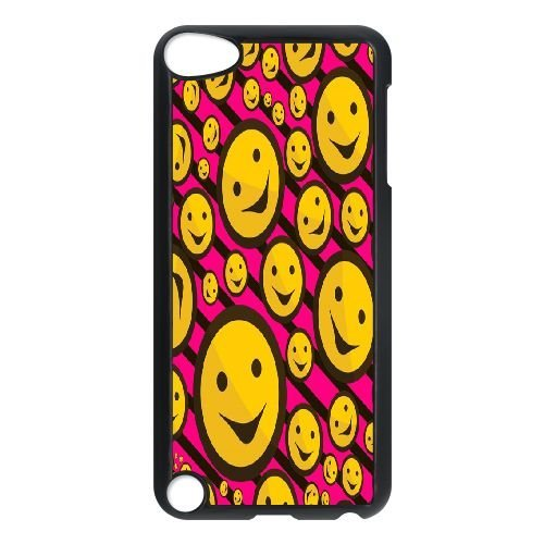 Custom Funny emoticons Case for iPod touch5, DIY Funny emoticons Touch 5 Phone Case, Funny emoticons iPod Case Cover