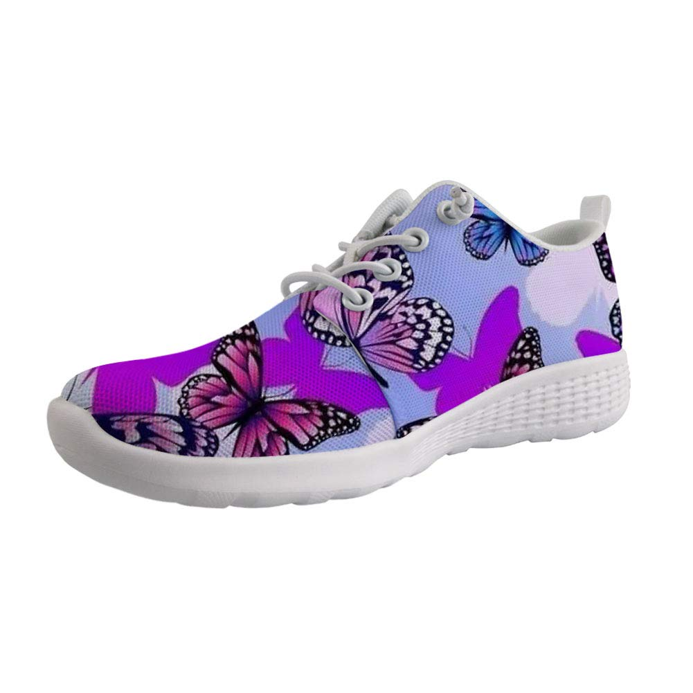 HUGS IDEA Animal Print Womens Water Shoes Lightweight Comfort Sport Swim Surf Quick-Drying Casual Beach Aqua Shoe