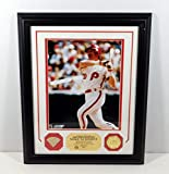 Highland Mint Mike Schmidt Photo with Game Used Bat Piece Coin Framed DA025111