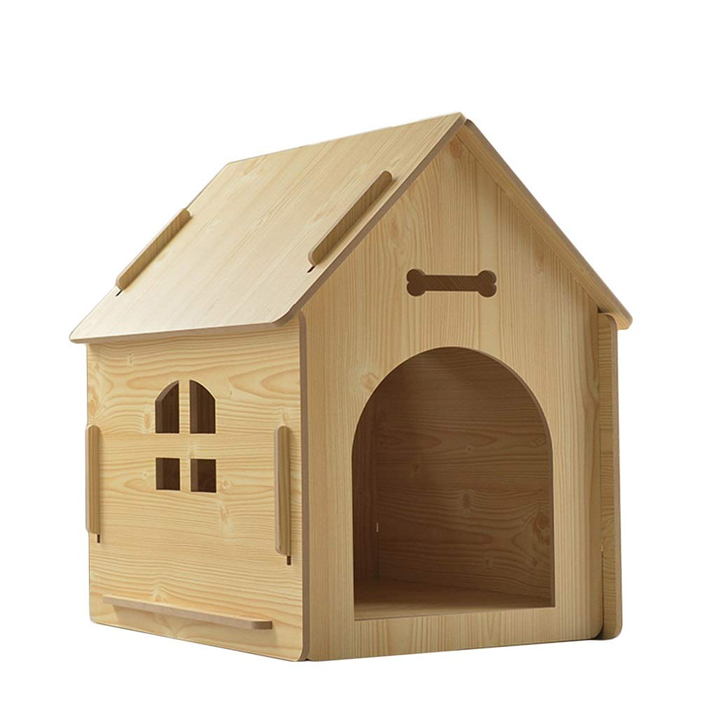 memorizzare ZHAO ZHANQIANG Casa per Cani e e e Gatti, Cuccia per Cani in Legno, Cuccia per Animali Domestici, Cane di Piccola e Media Taglia, Cuccia per Cani, Gabbia per Gatti per Cani, Antivento e Caldo  molto popolare
