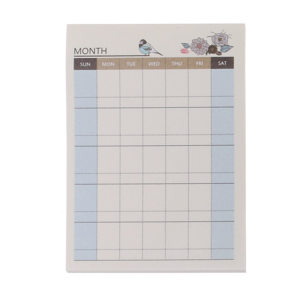 Lunji Petit Carnet - To Do List Blocs - Cahier Portable (1#)