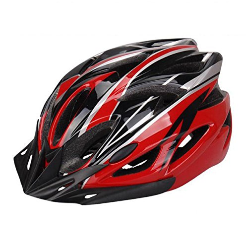 Eyourlife  Wind Cross Road/Mountain Bike Helmet Cycling EPS Teens Helment / Adult Helmet For Safety Protection / Red ()