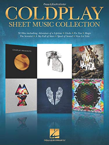 Coldplay Sheet Music Collection (Music Pvg Book Sheet)