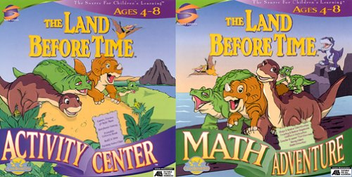The Land Before Activity Center AGES 4-8 by SOUND SOURCE/LAND BEFORE TIME