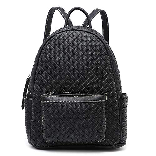- Women Backpack Purse Ladies Trendy Stylish Casual Back Pack Handbag Bag (Small, Small Black)