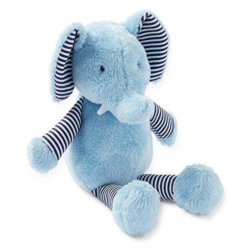 Carter's Baby Boys' Soft Stuffed Elephant with Rattle