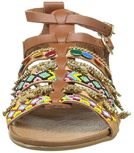 Inuovo 6424 - Sandalias de vestir Mujer Marrón - Marron (Coconut)