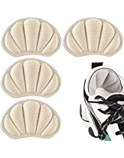 Darger Heel Grips for Loose Shoes, Heel Cushion Liner for Blisters, Self-Adhesive Heel Protector Pads 2 Pairs