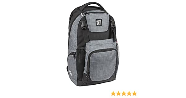 Amazon.com: FUL Nomad Backpack (Heather Grey/Black): Computers & Accessories