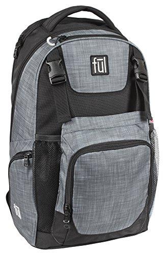 FUL Nomad Backpack (Heather Grey/Black)