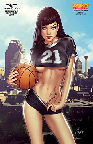 Grimm Fairy Tales 2016 Photoshoot Edition Alamo City Comic Con / Heroes & Fantasies Exclusive Variant Cover Spurs Tribute LTD to 750! - Exclusive Variant Cover
