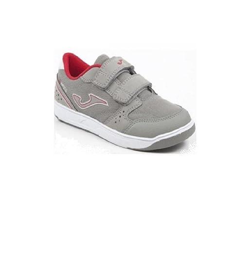 -Joma - Zapatillas de Sintético para Niño Gris Gris: Amazon.es: Zapatos y complementos