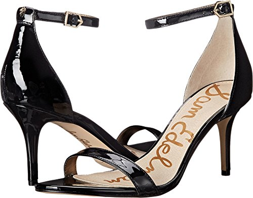 Sam Edelman Women's Patti Black Patent 4 M US by Sam Edelman