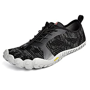 Troadlop Men's Quick Drying Outdoor Lightweight Breathable Non-Slip Mesh Hiking Trail Running Shoes