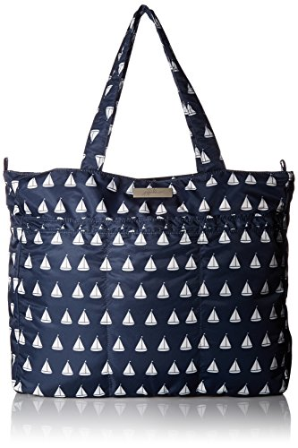 Ju-Ju-Be Coastal Collection Super Be Zippered Tote Diaper Bag, - Annapolis Stores