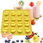IHUIXINHE Food Grade Silicone Mold, Non-stick Ice Cube Mold, Jelly, Biscuits, Chocolate, Candy, Cupcake Baking Mould, Muffin pan 12 High-quality material: Made of 100% food grade silicone, FDA approved, heat resistant, BPA free. Ovenproof and Freeze-proof: Temperature Safe from -40 to +446 degrees Fahrenheit (-40 to +230 degrees Celsius). You can put them in the microwave, oven, refrigerator, freezer and dishwasher. Multi-functional: These versatile molds not only can be used for making chocolates, but also cakes, mousse, jelly, pudding, frozen yogurt treats, ice cubes with fruit juice, cake decorations, etc can all be made with this one silicone mold. You can make treats for your kids or pets.