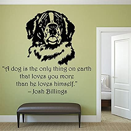 Amazon Com Athena Bacon Wall Decal Dogs Quote Best Friend Animals