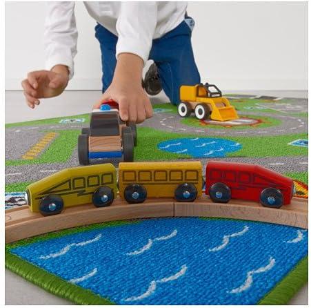 ikea 703 568 22 storabo tapis de jeu antiderapant pour chambre d enfant