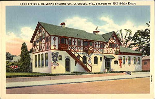 Home Office G. Heileman Brewing Co. - Brewers of Old Style Lager Original Vintage Postcard