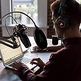 USB Microphone with Studio Headphones, Lavalier