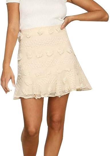 Sylar Faldas Cortas Mujer Faldas de Fiesta para Bodas Mujer Falda ...
