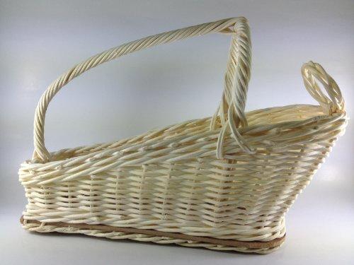 Wine Bottle Holder Basket Rattan Rope Thai ()