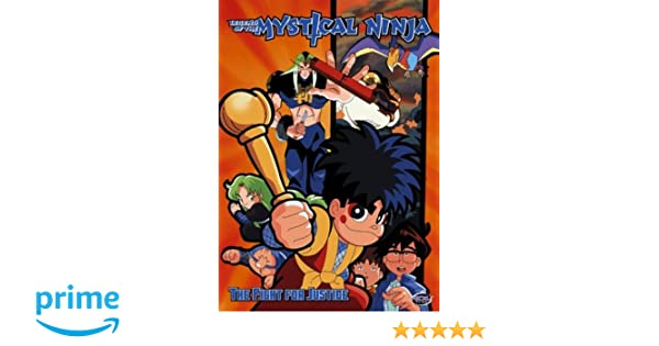 Amazon.com: Legend of Mystical Ninja - The Fight for Justice ...