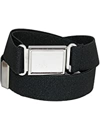 Kids' Elastic 1 Inch Adjustable Belt with Magnetic Buckle