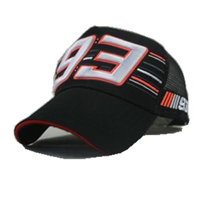 Nueva gama de Marc Márquez + 93 Gorra de béisbol gorro para moto racing Cap,
