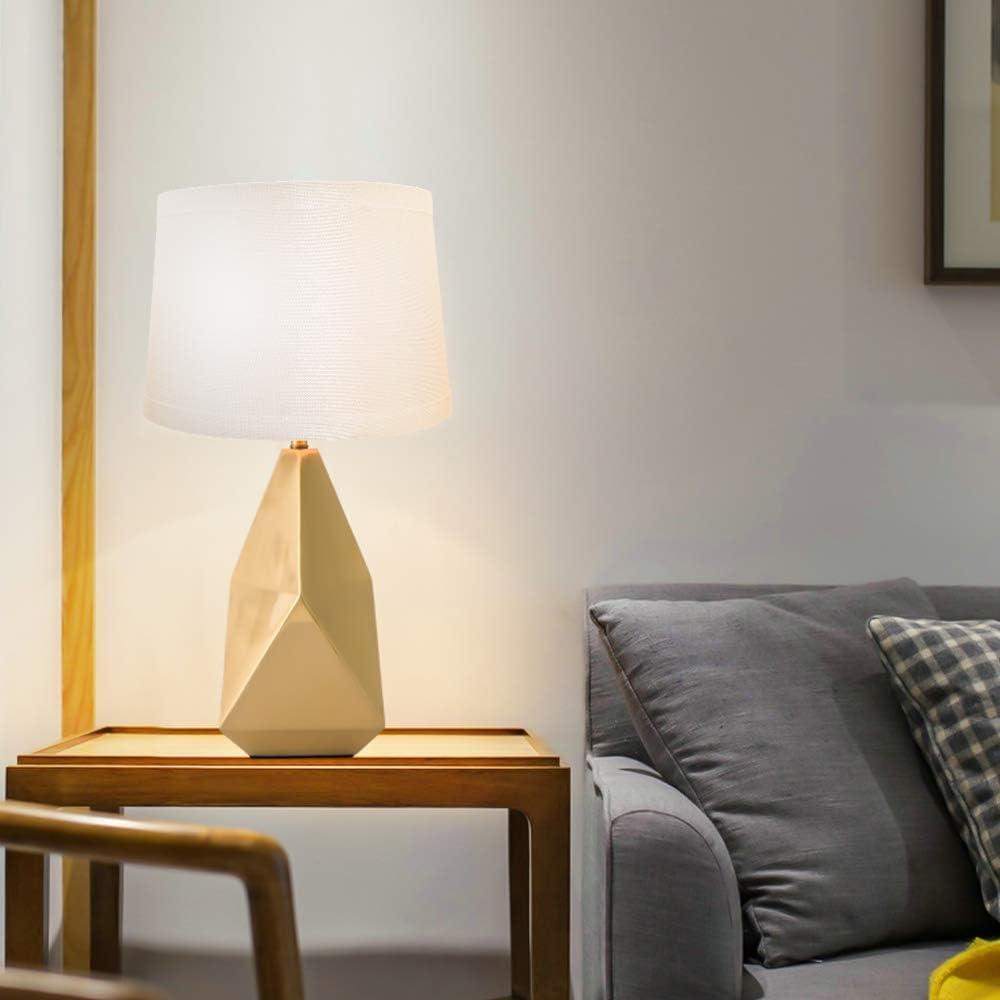 Amazon.com: Pantalla de lámpara mediana, pantalla de tela ...