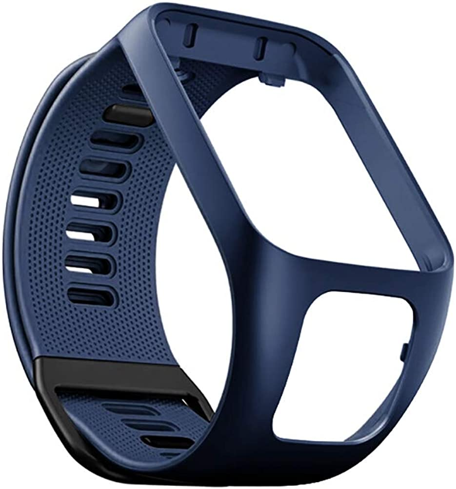 Banda de Reloj, Compatible con Bandas de Reloj Tomtom Spark 3, Reemplazo de Correas de Reloj de Silicona para Tomtom Runner 2 3, Spark 3, Golfer 2, Adventurer Smartwatches